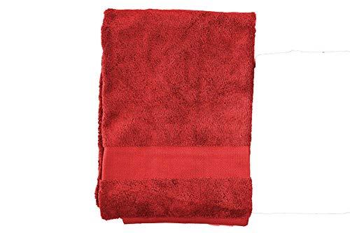 Manifattura Toscana Las Toallas Pueden ser Personalizados Bordados con el Nombre de la Inicial del Monograma - Rojo, Shower Towel