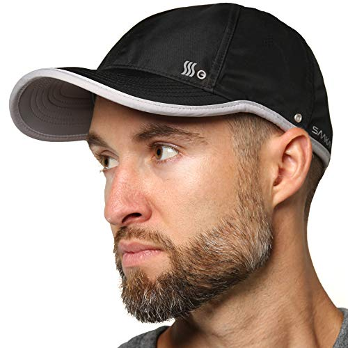 SAAKA Lightweight Hat for Men. Fast Drying