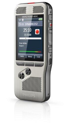 Philips DPM6000 Digital Pocket Memo Voice Recorder with Push Button Operation Photo #4