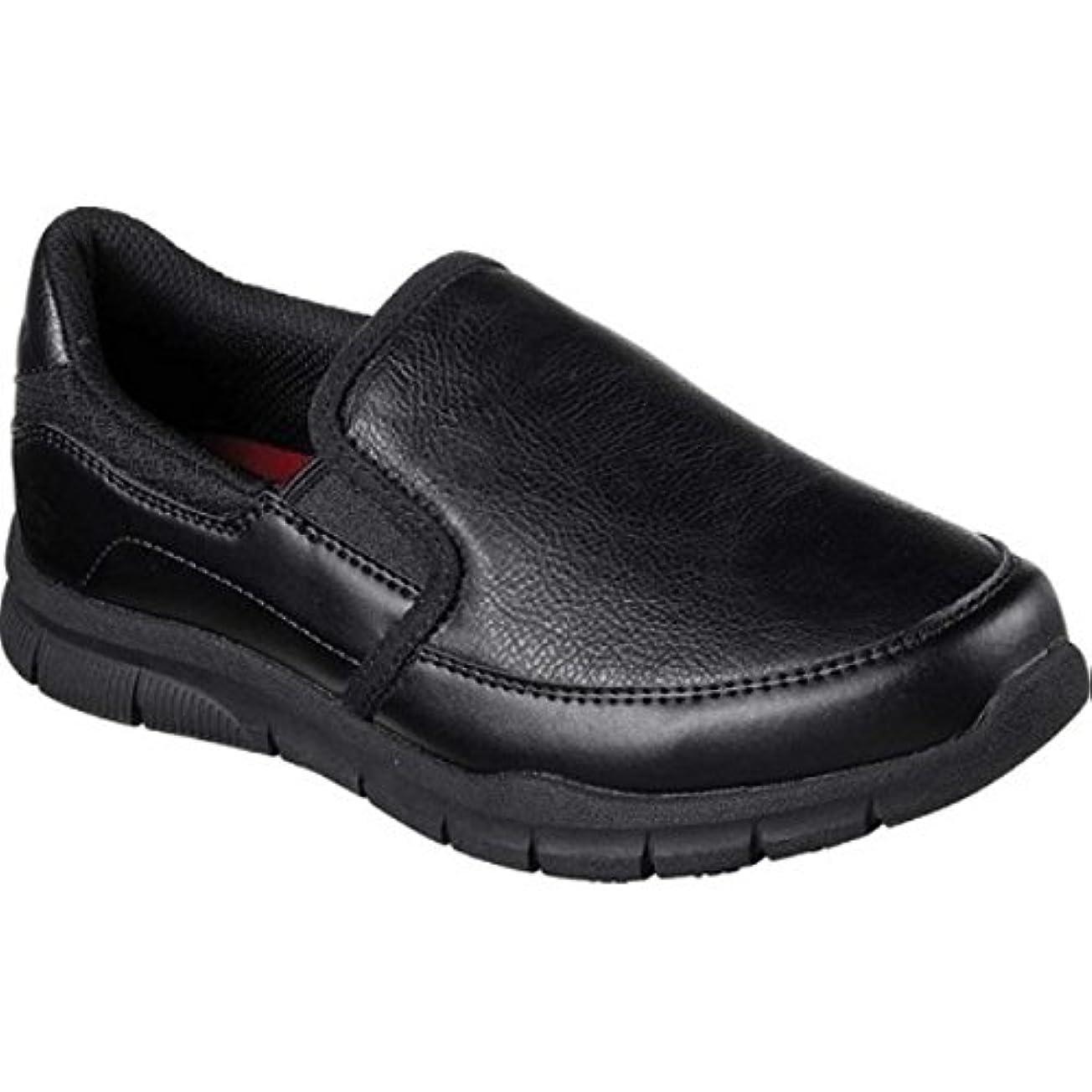 雷雨まともな被害者(スケッチャーズ) Skechers レディース シューズ?靴 Work Relaxed Fit Nampa Annod Slip Resistant Shoe [並行輸入品]