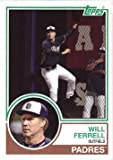 2015 Topps Archives Will Ferrell #WF-10 Will Ferrell Baseball Card - San Diego Padres