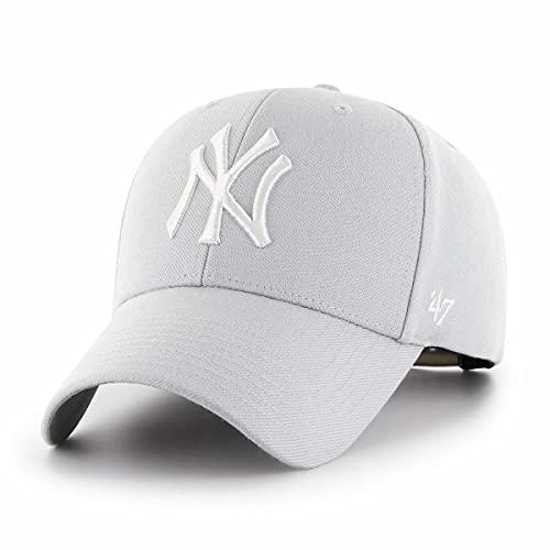 47 New York Yankees - Snapback Cap - MVP - MLB - Steel Grey - One-Size
