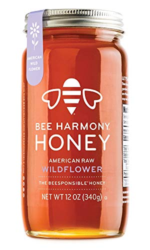 Raw Wildflower Honey, 12 OZ