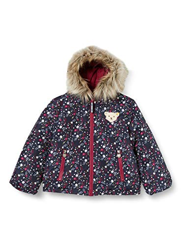 Steiff Mädchen Wendejacke Jacke, Rot (BEET RED 4010), 98 (Herstellergröße:98)