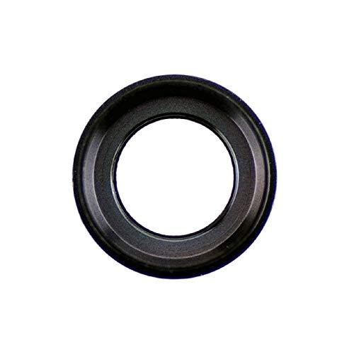 Smartex Vidrio con Cubierta para Camara Trasera Compatible con iPhone 7 - Negro