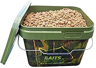 Commonbaits Chufas Natural Mix 7,5 kg Im 10l Camo Cubo /