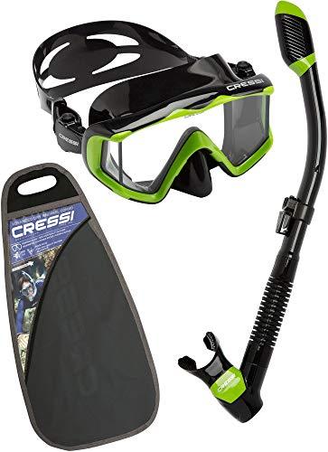 Cressi Unisex Pano 3 & Alpha Ultra Dry -...