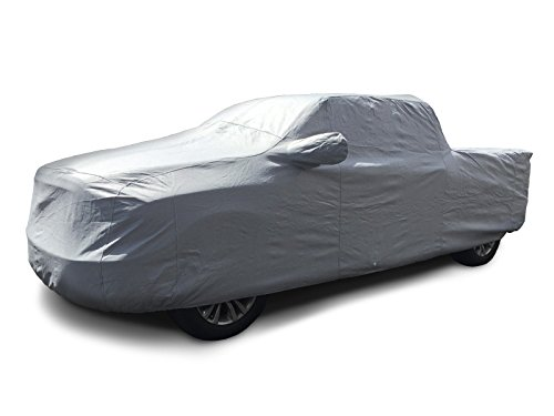 CarsCover Custom Fit 1998-2018 Dodge Ram 1500 Crew Cab Quad Cab 5.5ft Bed Box Short Bed Truck Car Cover Heavy Duty All Weatherproof Ultrashield