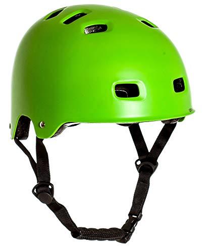 Sport DirectTM BMX-Skate Helm grün 55-58cm CE EN1078:2012+A1:2012 - 6