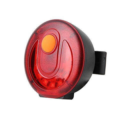 USB Fietsachterlicht, Waterdichte Fiets LED Bocht Achterlicht Veiligheidswaarschuwingslicht Remlicht Ingebouwde USB-batterij