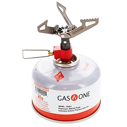Gas One Titanium Camping Stove with Fuel - All...