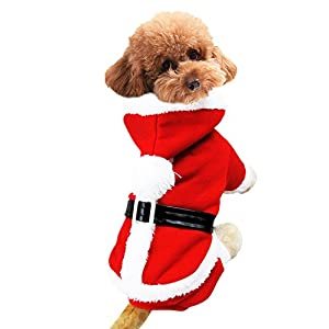 BXT Pets Puppy Cats Dogs Spring Fall Winter Soft Warmer Sleeves Sweater Christmas Pet Clothes Hoodies Jumpsuit Jumper (S-XXL)