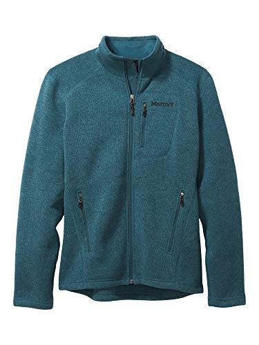 Marmot Drop Line Jacket Veste Polaire, Veste d'extérieur à Fermeture éclair sur Toute la Longueur, Respirante, résistante au Vent Homme Stargazer FR: M (Taille Fabricant: M)