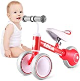 Baby Balance Bike, Cute Toddler Bikes 12-36 Months Gifts for 1 Year Old