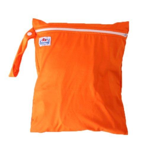 Lsv-8 bebé sola cremallera reutilizable bolsa de pañales impermeable