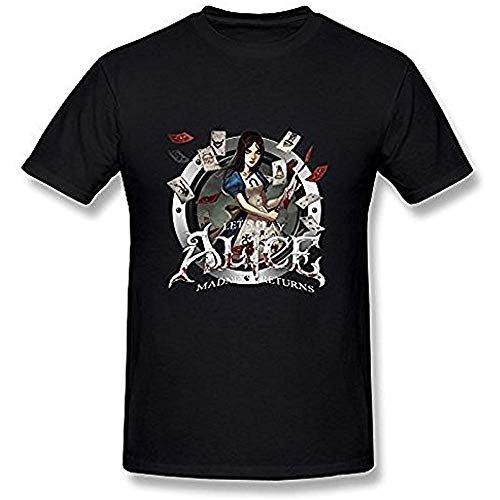 NR Men's Alice Madness Returns T Shirt Black