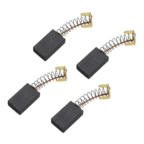 Be In Your Mind - 2 pares de escobillas de carbón para motor, amoladora angular de motores eléctricos, 20 x 12 x 6 mm