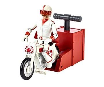 Mattel Disney Toy Story 4 Figura Duke Caboom acrobacias y Carreras con Su Moto, Juguetes Niños +3 Años (GFB55) , color/modelo surtido