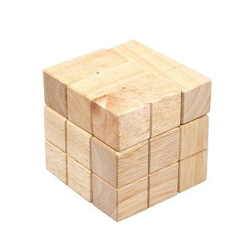 Hardwood Soma Cube