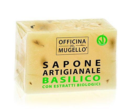 SAPONE SOLIDO BASILICO 100 g - OFFICINA DEL MUGELLO
