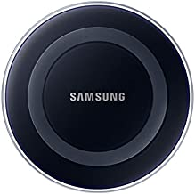 Samsung EP-PG920IBUGUS Wireless Qi Charging Pad with 2A Wall Charger - Black Sapphire (Renewed)