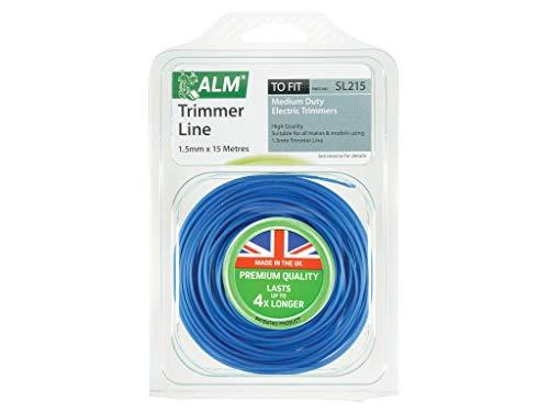 Alm Fil pour débroussailleuse électrique SL215, épaisseur M, dimensions 1,5 mm 15 m.