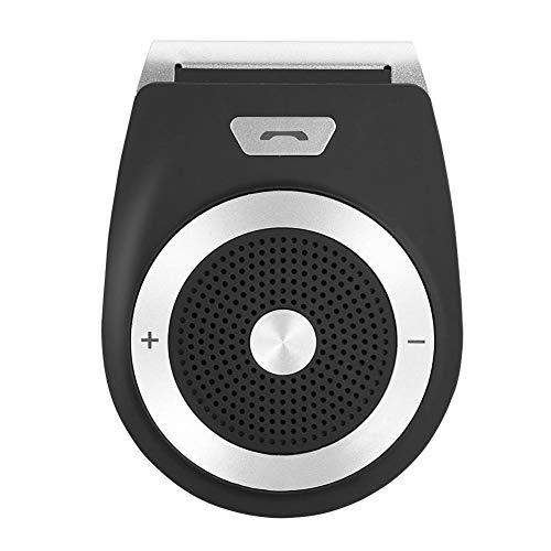 Autoluidsprekertelefoon, Slimme Draadloze Bluetooth Handsfree Luidspreker met Carkit Vizierclip, Ondersteuning voor Dubbele verbinding, Gesproken Prompt, Nieuwe Generatie Automatische Luidsprekertelef