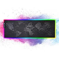RGB Gaming Mouse Pad Mat, Extended Light Led Mousepad
