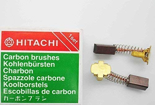 CARBON BRUSHES Hitachi Drill 14v 18v DV14DL WH18DL DV18DL 999054 999-054 H21