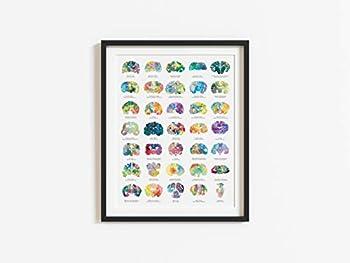 Best psychology brain art Reviews