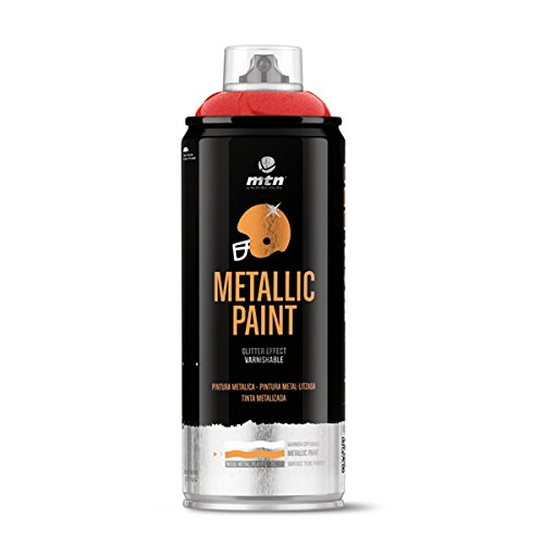 Montana Colors MTN PRO Metalizado Rojo R-3032, Spray, Rojo, 400 ml