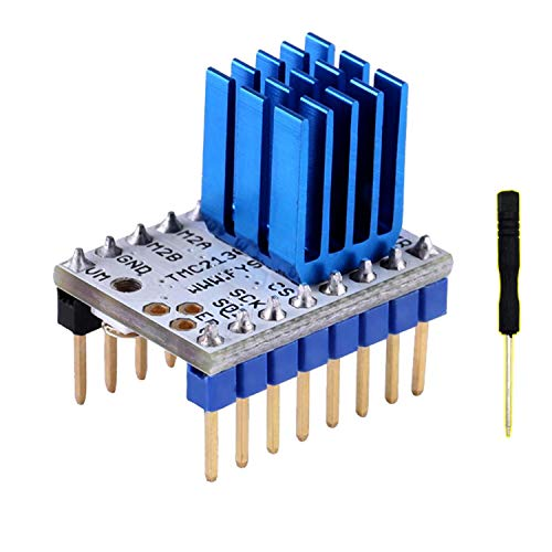 Kuhe TMC2130 V1.0 Stepper Motor Driver Module W/Heat Sink & Schroevendraaier Voor 3D Printer Power Module