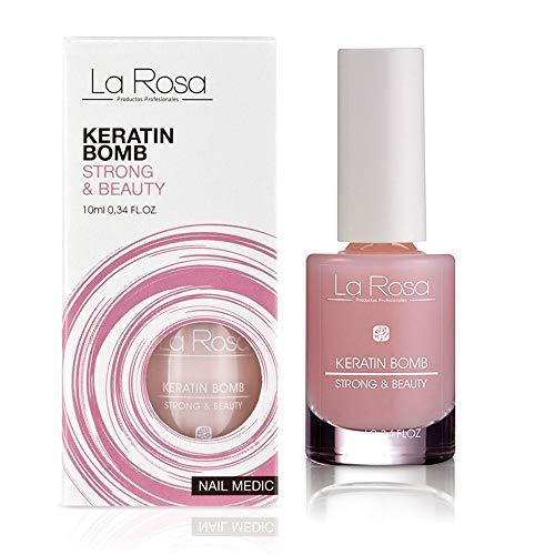 La Rosa – Nail Medic - KERATIN BOMB - Keratin Nagelserum – 10 ml