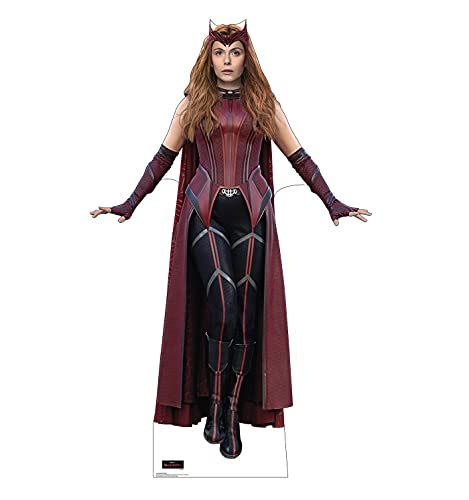 Advanced Graphics Scarlet Witch Life Size Cardboard Cutout Standup - Marvel's WandaVision