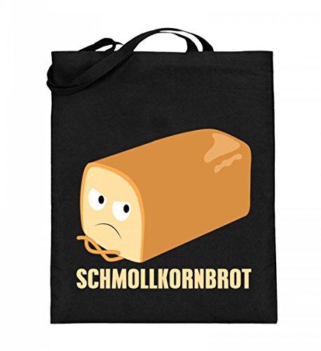 Hoogwaardige jute zak (met lange hengsels) - Schmollkorenbrood - Perfect voor nerds!