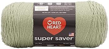 Red Heart Super Saver Yarn-Frosty Green