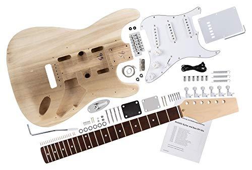 Rocktile DIY Strat Bausatz E-Gitarre -