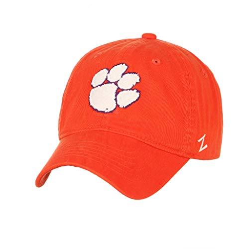 Clemson University Tigers Orange Paw 100% Cotton Top Scholarship Adult Men/Womens Adjustable Baseball Cap/Hat