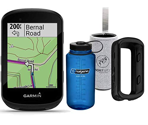 Nortwill - Garmin Edge 830 Performance Cycle GPS Bundle, Bike Computer with Mapping, Dynamic Performance Monitoring and Popularity Routing - Garmin Silicone case (GPS Bundle)