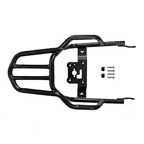 VRDN High Quality New Rear Luggage Rack Passenger Seat Backrest Rear Fender Support Shelf Rack For Ka.wa.sa.ki Z900RS Z900 RS 2018 2019 Cafe 2018 100% NEW (Color : Black)