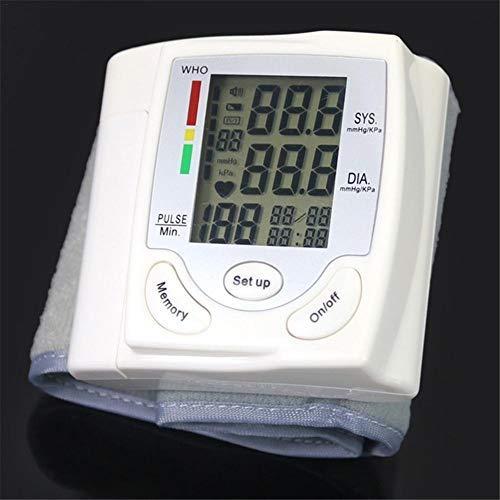 Handgelenk-Blutdruckmessgerät Für Zu Hause, Tragbares Blutdruckmessgerät Mit Digitaler Automatischer Blutdruckmessung Und LCD-Display Grand, Unregelmäßiger Herzschlag- Und Bluthochdruckdetektor