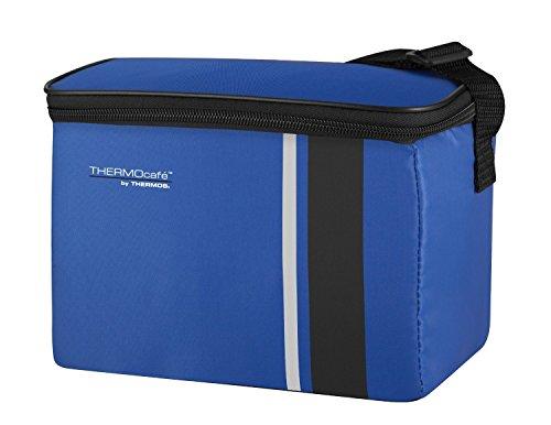 ThermoCafé by THERMOS Kühltasche Neo small 3 Liter - Isolierte Einkaufstasche aus Polyester, blau 13,5 x 22 x 16 cm - Faltbare Isoliertasche für Sport, Picknick, Büro, Auto oder Urlaub - 4090.253.030