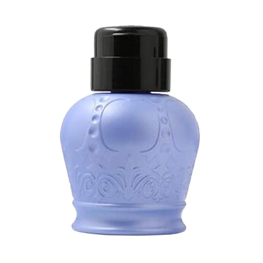 ベルに付けるスクレーパーF Fityle ネイルアートヒント 空ディスペンサー 空のポンプボトル 軽量 耐久性 2色選択 - ブルー