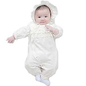 【 可愛さ満点 】iikuru ベビー ドレス お宮参り 赤ちゃん セレモニー ドレス フォーマル 2way x631