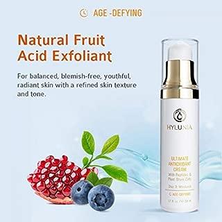 hylunia natural fruit acid exfoliant