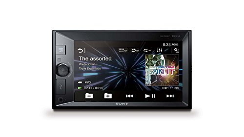 Sony XAVW650BT.EUR 2 DIN DVD Moniceiver 15,7 cm (6,2 inch) (display, CD/DVD-speler, Bluetooth, NFC, Apple iPod/iPhone Control, 4x 55 W) zwart, zonder dvd-station, zwart