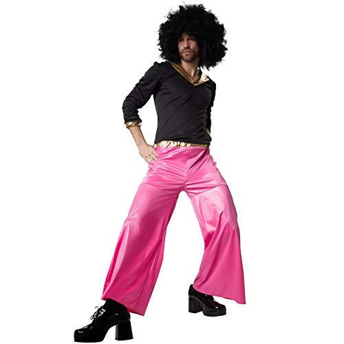 dressforfun 900502 - Herrenkostüm Funky Disco Dancer, Zweiteiliges und farbenprächtiges Disco-Outfit (XXL   Nr. 302406)