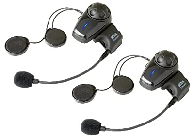 Sena SMH10D-10 Motorcycle Bluetooth Headset / Intercom (Dual) by Benchmark Helmets