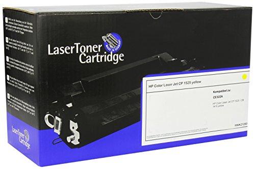 LDZ 3028 compatibele toner voor HP Laserjet Pro CP1525 (CE322A), 1300 pagina's, geel
