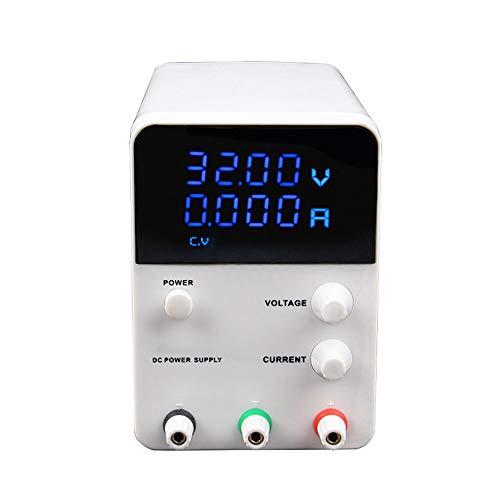 QWERTOUY Schalten Laborstromversorgung Einstellbare 4 Digit Spannungsregler Schaltspannungsstabilisator 0-60V 0-5A AC 115V / 230V 50 / 60Hz